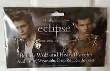 Twilight Eclipse BELLA'S WOLF e Cuore Braccialetto