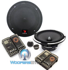 "FOCAL PS165V EXPERT 6.75"" COMPONENT ALUMINUM TWEETERS CROSSOVERS SPEAKERS NEW"