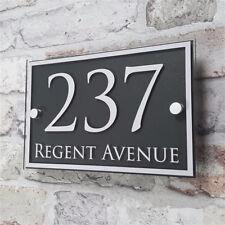 Custom Acrylic Door Number House Sign Apartment Street Address Effect Glass 13#