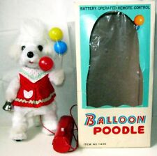 "AUTOMATE A BATTERIE -"" BALLOON POODLE Y Co + BOITE ""- FONCTIONNE- VIDEO - JAPAN"