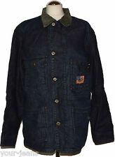 Replay Jeansjacke  Work Jacket  Gr. M   Vintage  Dark Blue