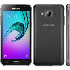 Samsung - Galaxy J3 (2016) 4G LTE with 16GB Memory Cell Phone (Unlocked) - Black