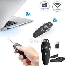 PPT Demonstration Laser Pointer Wireless Remote Control USB Powerpoint Clicker