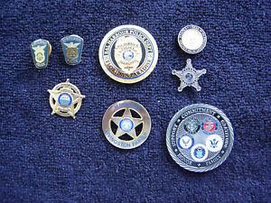US Secret Service Lapel Pin Challenge Coins Law Enforcement Pins