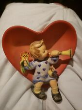 New Listing1984 Hummel Goebel Wall Hanging 'Tuneful Goodnight' Wall Hanging, Girl In Heart!