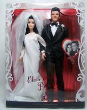 2008 Mattel Elvis and Priscilla Barbie Dolls Wedding Doll Giftset Gift Set