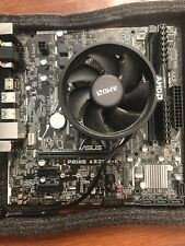 Ryzen 5 1500x with ASUS A320M-K Motherboard, AMD Fan and Corsair 4GB Ram