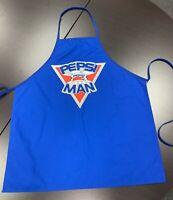Vintage Pepsi Man BBQ Cooking Apron HTF Pepsiman Advertising Collectible RARE