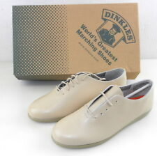 Dinkles #806/S13 Men's Marching SHOES ~ Size 8W Cream/Tan ~ New w/Box  T36