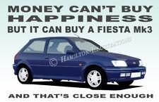 Ford Fiesta Mk3 RS1800 XR2i Turbo Novelty Fridge Magnet