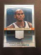 NBA Jersey Card Jerry Stackhouse Fleer 2003-04 Final Edition 41/250 (rare)