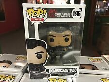 2017 Funko POP! Games Gears of War DOMINIC SANTIAGO #196 Vinyl Figure MIB