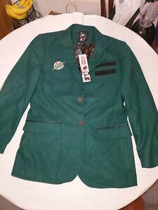 Boba Fett Blazer Suit Jacket Size Large New With Tags NWT!! Disney Star Wars