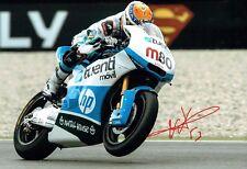 Esteve Tito RABAT Signed Photo 4 AFTAL Autograph COA MOTOGP Former Moto2 Champ