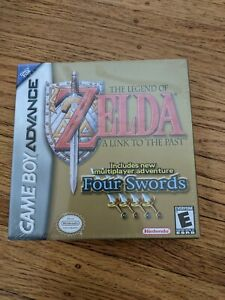 FACTORY SEALED NEAR MINT Legend of Zelda: A Link to the Past - GBA 2002