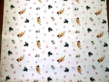 BAMBI FABRIC BAMBI WOODLAND DREAMS TOSS allover CP49001 DISNEY DEER FABRIC NEW