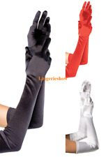 Fashion Women Long Gloves Elbow Opera Wedding Bridal Evening Party Prom Costume