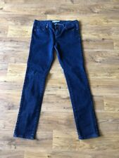 Blue Baxter Skinny Jeans From Topshop Size 12 W30 L32