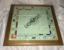 Very Rare limited edition 1985 ceramic tile wooden encased monopoly game