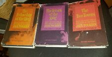 LORD OF THE RINGS TRILOGY J.R.R. TOLKEN 1965 REVISED SECOND EDITION first BOOKS