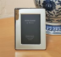 SILVER PLATED FLAT EDGE PICTURE PHOTO FRAME IN SIZE 3.5x5 5X7 8X10 JULIANA