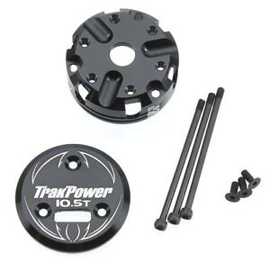 TrakPower MS Series 10.5T Brushless Motor Front/End Bell Set TKPC7110