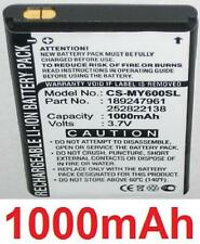 Batterie 1000mAh type 189247961 252822138 SO1B-SN1 SOIA-SN1 Pour SAGEM MY800v