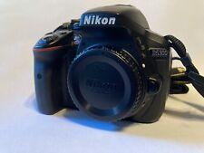 Near Mint Nikon D5300 24.2MP Digital SLR Camera Black Body Only With 6315 Clicks