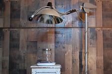 Vintage Castle Medical Dental Lamp, Light, industrial all metal commercial medic