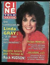 Ciné Télé 3/04/1986; Linda Gray/ Rock Hudson/ 37,2° le matin/ Tchéky Karyo