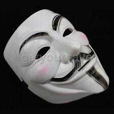 V For Vendetta Face Mask Guy Fawkes Anonymous Fancy Dress Halloween Masks