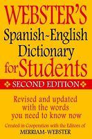 Webster's Spanish-English Dictionary for Students, Second Edition (Paperback or