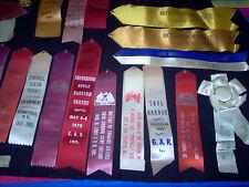 Vintage Civil War Battle War Ribbons Awards