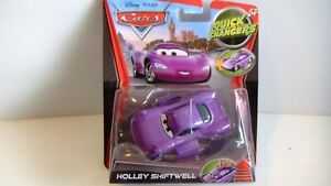 Disney Pixar Cars Quick Changers HOLLEY SHIFTWELL - new in box - 2012