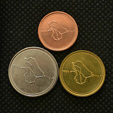SONDERANGEBOTE !!! IRAQ SET 3 COINS  25, 50, 100 Dinars UNC CURRENCY MIDDLE EAST
