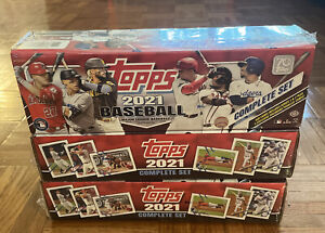 2021 Topps Baseball Complete Factory Sealed Set Hobby - Ready To Ship