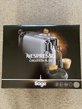 Sage The Creatista Plus Nespresso Stainless Steel - BNE800BSS NEW