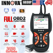 INNOVA 6030P OBD2 Scanner ABS Battery Test Code Reader Car Diagnostic Tool