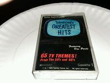 Television's Greatest Hits 65 Tv Themes #1 cassette Mr. Ed Popeye Flintstones cs