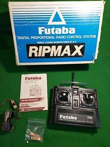 1984 Vintage Futaba Ripmax Digital Proportional transmitter R/C System FP-2l