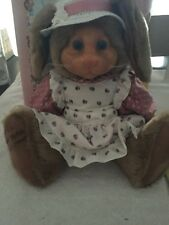 New In Box Raikes Easter Bunny Nickleby Applause Raikes Plush Bear MRS.