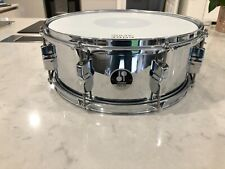 """Sonor 8 lug Mirror Chrome Over Steel 14"""" x 5.5 snare drum"""