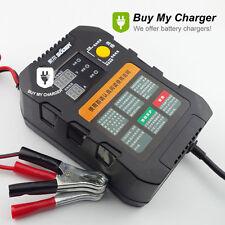 6V/12V Smart Auto Lead Acid Battery Charger &Digital Display AC 220V 170V~250V