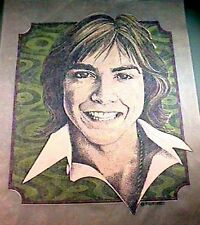 VINTAGE ROACH DAVID CASSIDY IRON-ON TRANSFER ( 1973 )
