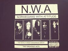 Norwegians with Attitude Black metal shirt Fenriz