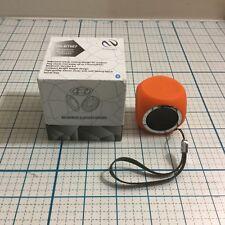 NOTASHAE Mini Waterproof BLUETOOTH SPEAKER (Orange) - NIB