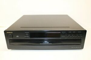 Onkyo DX-C380 6 Disc CD Player Changer - Tested and Working - No Remote