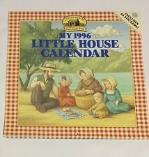Vintage My 1996 little house calendar includes 63 stickers