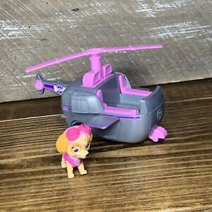 Paw Patrol SKYE Action HELICOPTER Vehicle Dog Figure Nickelodeon Sky Chopper