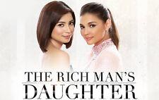 The Rich Man's Daughter Complete Set Filipino TV Series DVD Pinoy teleserye